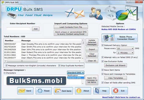 Windows 7 Bulk SMS GSM 8.2.1.0 full