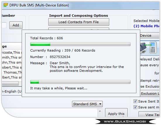 Bulk SMS GSM Mobile