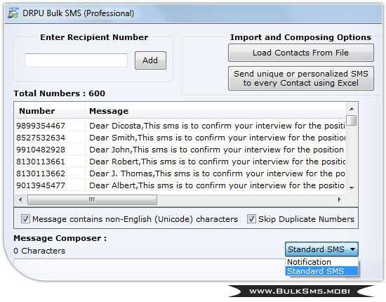 SMS Marketing GSM